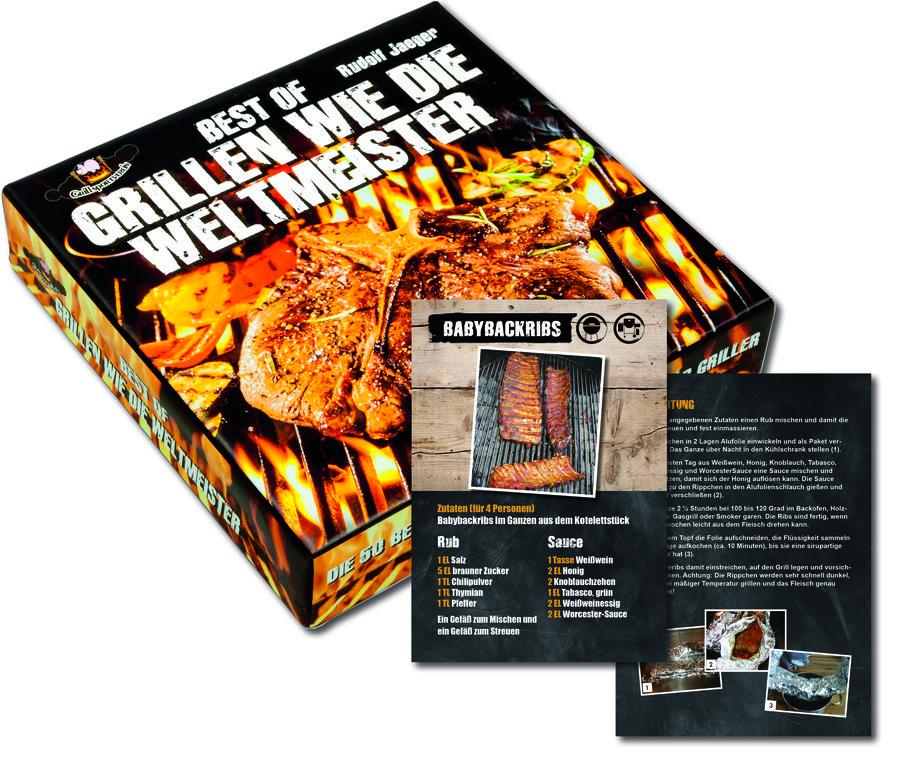 Grillen Wie Die Weltmeister Die Geschenk Box Mit 52 Rezeptkarten