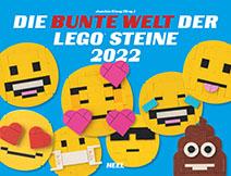 Cover Kalender Die bunte Welt der LEGO® Steine | Heel Verlag