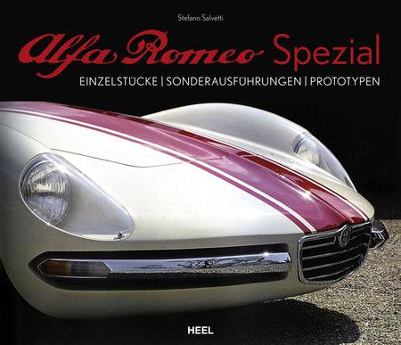 Buchcover Alfa Romeo Spezial - vom Heel Verlag