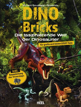 Buchcover Dino Bricks Die faszinierende Welt der Dinosaurier vom Heel Verlag