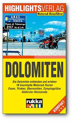 Motorrad-Reiseführer Dolomiten
