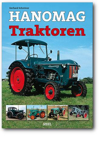Buchcover Hanomag Traktoren | Heel Verlag