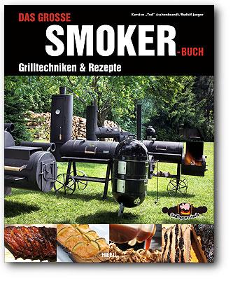 Buchcover Das große Smoker Buch Grilltechniken & Rezepte vom Heel Verlag