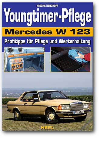 Youngtimer-Pflege Mercedes W 123