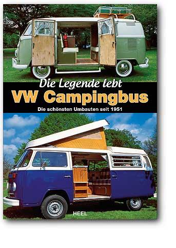 Buchcover VW Campingbus | Heel Verlag