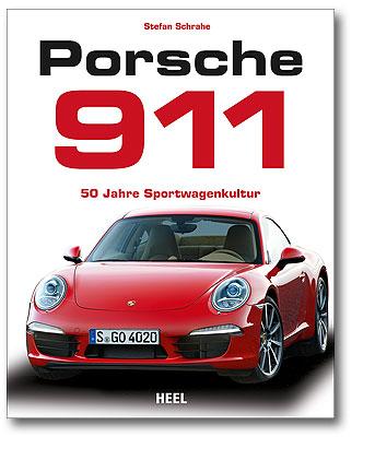 Buchcover Porsche 911 - 50 Jahre Sportwagenkultur Heel Verlag