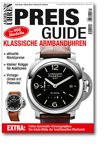 Preisguide klassische Armbanduhren
