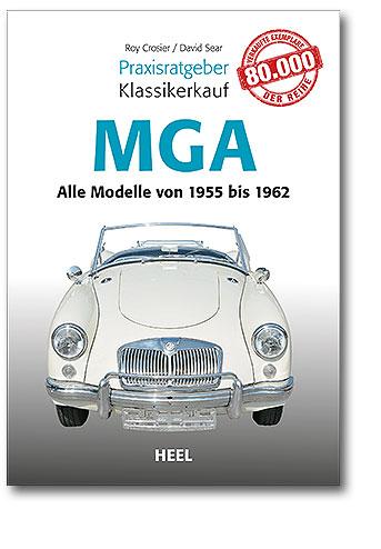 Buchcover Praxisratgeber Klassikerkauf: MGA | Heel Verlag