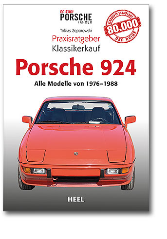 Buchcover Praxisratgeber Klassikerkauf: Porsche 924 | Heel Verlag