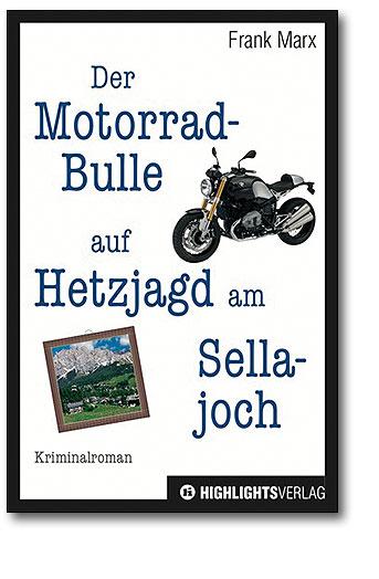 Der Motorradbulle auf Hetzjagd am Sellajoch