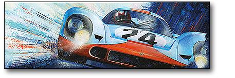 Abbildung Leinwand Porsche 917 Jo Siffert Heel Verlag