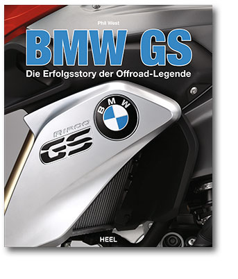Buchcover BMW GS | Heel Verlag