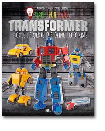 Buchcover Transformers - Coole Projekte für deine Lego-Kiste Heel Verlag