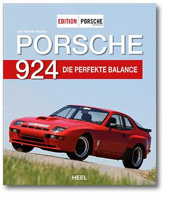 Buchcover Porsche 924 | Heel Verlag