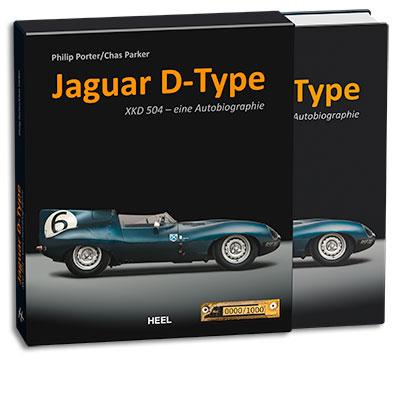 Buchcover Jaguar D-Type XKD 504 - eine Autobiografie vom Heel Verlag