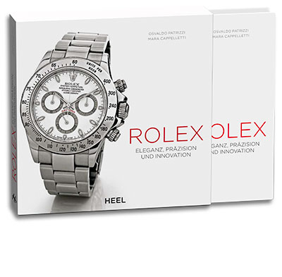 Buchcover Rolex Eleganz, Präzision und Innovation vom Heel Verlag