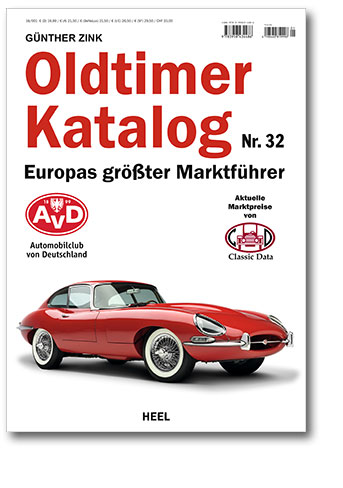 Buchcover Oldtimer Katalog Nr. 32 Europas größter Marktführer vom Heel Verlag