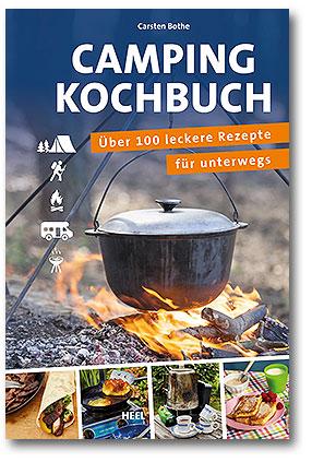 Buchcover Das Camping-Kochbuch | vom Heel Verlag