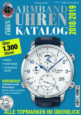 Buchcover Armbanduhren katalog 2018 vom Heel Verlag
