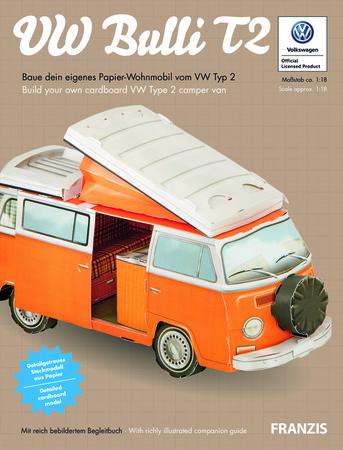 Cover Papierbausatz VW Bulli T2 - Heel Verlag