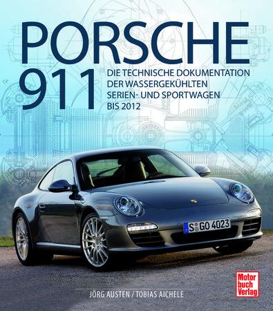 Cover - Porsche 911 - Technische Dokumentation aller luftgekühlten Modelle - Heel Verlag