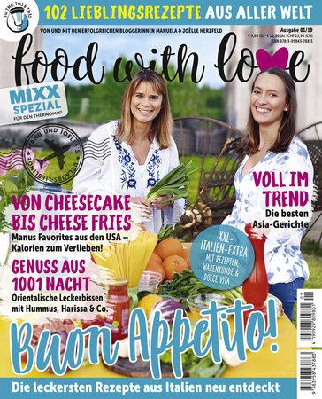 Buchcover Food with love Lieblingsrezepte aus aller Welt vom Heel Verlag