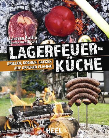 Buchcover Lagerfeuerküche vom Heel Verlag