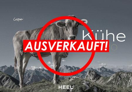 Kalendercover Kühe 2020 vom Heel Verlag