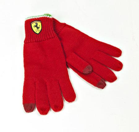 Artikelbild Original Ferrari Handschuhe rot - Unisex | Heel Verlag
