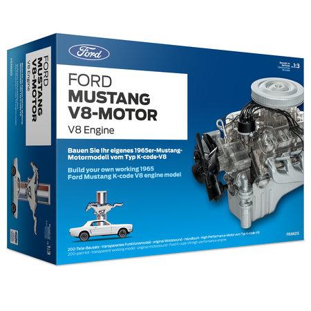 Abbildung Motor-Bausatz: Ford Mustang V8 jetzt selber bauen | Heel Verlag