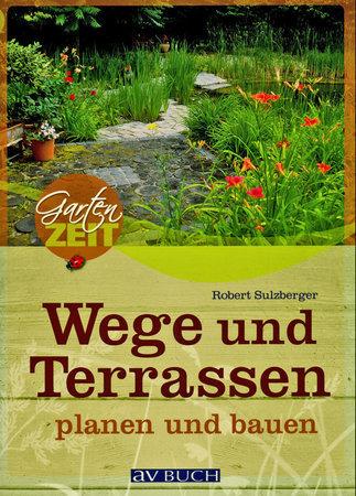 Buchcover Wege und Terassen planen und anlegen | Heel Verlag