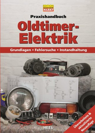 Buchcover Praxishandbuch Oldtimer-Elektrik - vom Heel Verlag