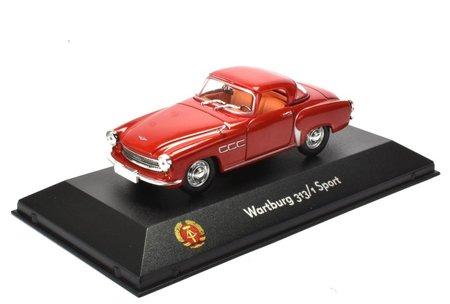 Artikelbild Originalgetreues Modellauto Wartburg 313/1 Sport 1:43 | Heel Verlag