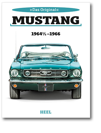 Buchcover Ford Mustang 1964 1/2 bis 1966 | Heel Verlag