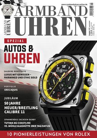 Magazincover Armanduhren Magazin 3/2019 vom Heel Verlag