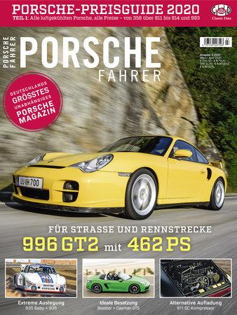Magazincover PORSCHE FAHRER 2/2020 | HEEL Verlag