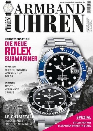 Magazincover Armbanduhren Magazin 6/2020 | Heel Verlag
