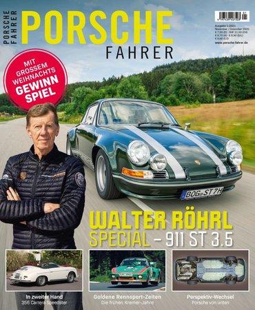 Magazincover PORSCHE FAHRER 1-2021   HEEL Verlag