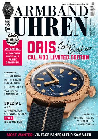 Magazincover Armbanduhren Magazin 1/2021 | Heel Verlag