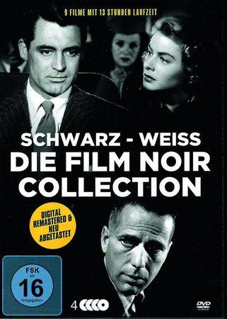 Cover Dunkle Thriller - Film Noir Edition (4 DVDs) | Heel Verlag