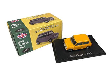 Cover Originalgetreues Modellauto Mini Cooper Mk3 1:43 | Heel Verlag