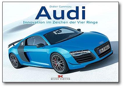 Buchcover Audi - Innovation im Zeichen der vier Ringe | Heel Verlag