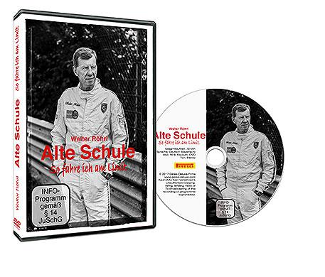 Cover Walter Röhrl: Alte Schule DVD | Heel Verlag