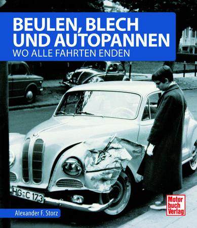 Buchcover Beulen, Blech und Autopannen | Heel Verlag