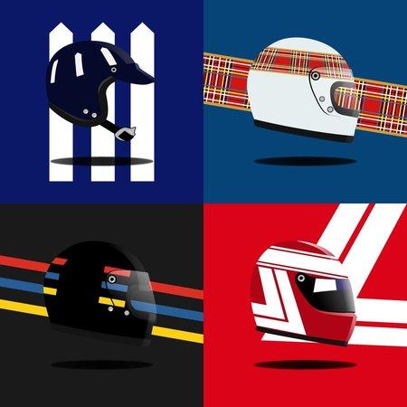 Formel 1 Helm Socken Paket | Heel Verlag