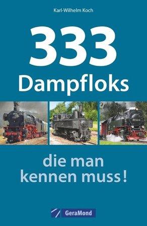 Buchcover 333 Dampfloks   Heel Verlag