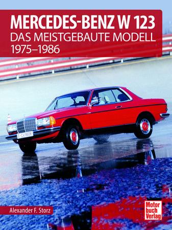 Buchcover Mercedes-Benz W 123   Heel Verlag