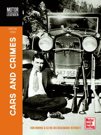 Buchcover Motorlegenden Cars & Crimes | Heel Verlag