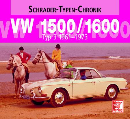 Buchcover VW 1500/1600   Heel Verlag