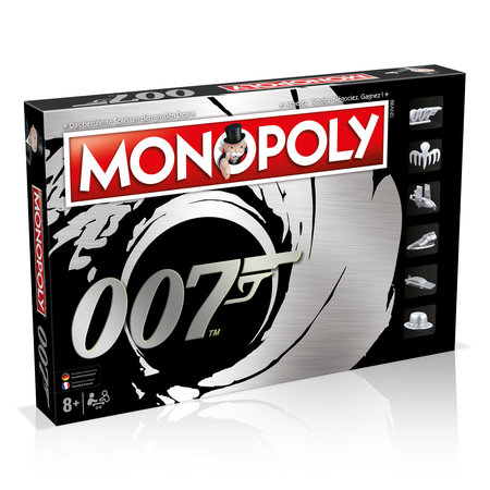 Cover James Bond Monopoly | Heel Verlag